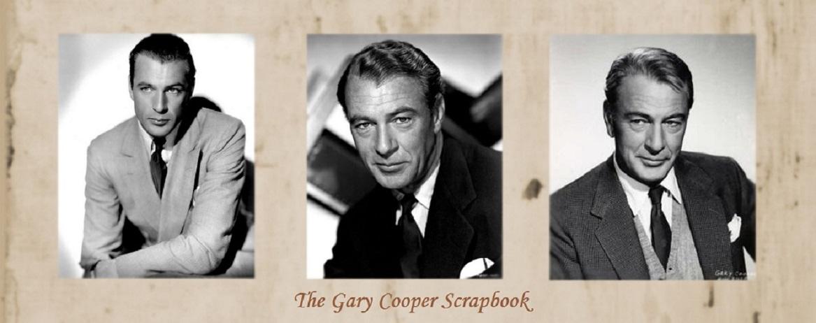 Gary Cooper Scrapbook
